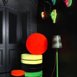 Soft Furnishings  & Skull Art Sculpture 'FLURO FUSION' COLLECTON @BRAVE BOUTIQUE