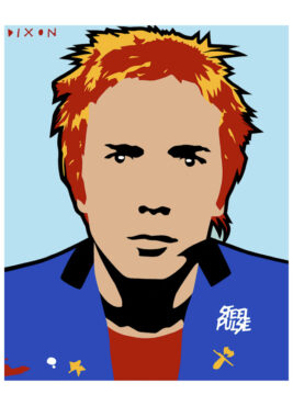 'Johnny Rotten Steel Pulse' Limited Edition Giclee Print