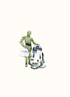 'C-P3O and R2D2'
