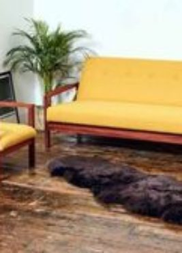 "Daybed & Armchair by ""Reloved Upholstery"""