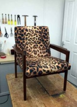 Mid Century Armchair – Reupholstered by Vintique
