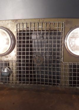 Series 2 Land Rover light